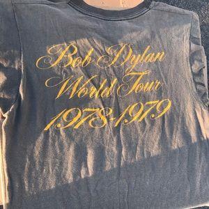 1978-1979 Bob Dylan World Tour T-Shirt Sz M